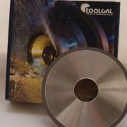 Алмазный шлифовальный круг прямого профиля 1А1 150x8x40
